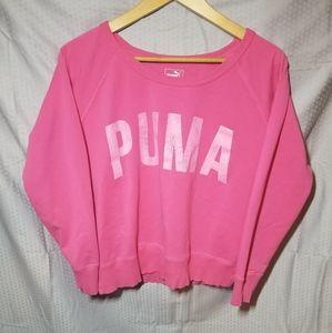 Puma Scoop Neck Sweatshirt